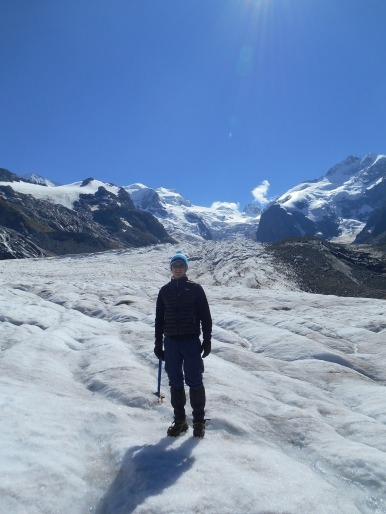 Morteratsch Glacier, Switzerland. Field-Work 2013.